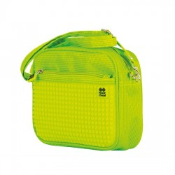 GREEN / NEON YELLOW HANDBAG