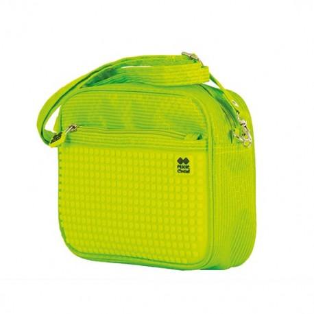 Pixie Handbag GREEN / NEON YELLOW HANDBAG