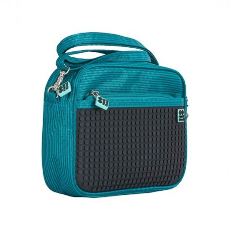 Pixie Handbag PETROL / BLACK HANDBAG