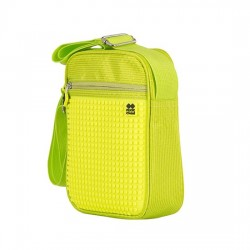 GREEN / NEON YELLOW CROSSBODY BAG