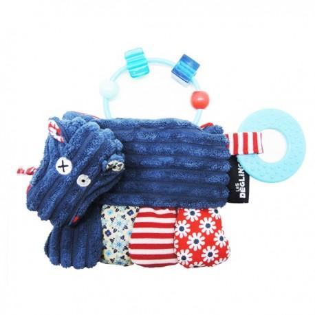 Hochet d'activités Hippipos l'Hippo