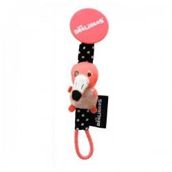 Pacifier clip Flamingos