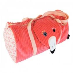 Sac de fin de semaine Flamingos le flamant rose