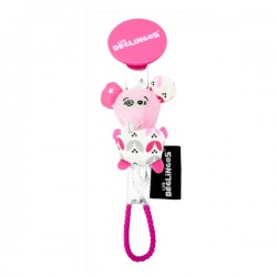 Pacifier Clip Coquelicos the Mouse