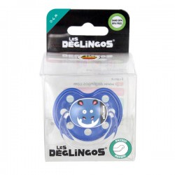 Sucette en silicone physio douce Hippo 0-6m