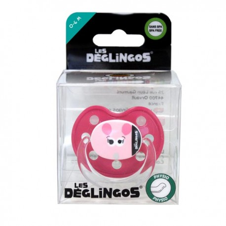 Sillicone pacifier Mouse 0-6m