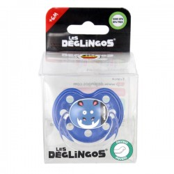 Sillicone pacifier Hippo 6m+