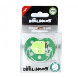 Sillicone pacifier Alligator 6m+