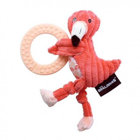 Jouet de dentition Flamingos le Flamant rose