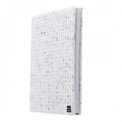 Pixie Journal WHITE WITH GLITTER