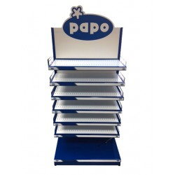 - PAPO DISPLAY NUVO W/LIGHTS