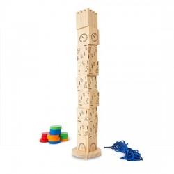 Tour de Pise (9 cubes -1 corde - 4 ens/3fiches - hmax