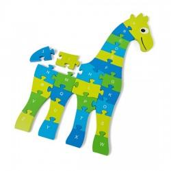 Puzzle de Girafe (26 pièces -60 x 40 x 1.5cm)