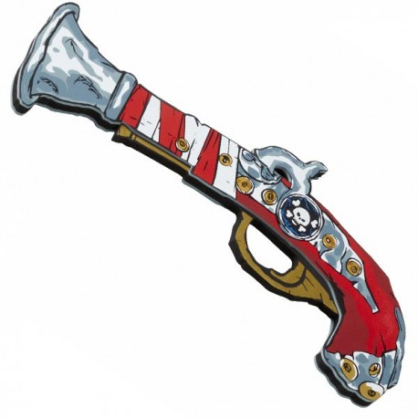 Pirate Pistol, Pirate Red Stripe