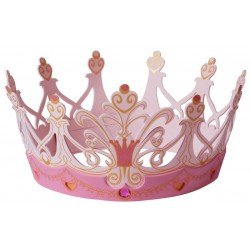 Queen Crown, pink