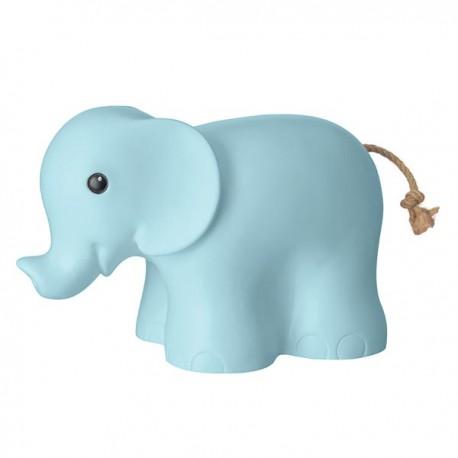 LAMP ELEPHANT BLUE