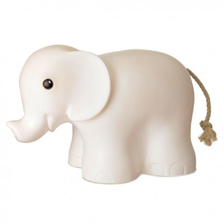 LAMP ELEPHANT WHITE