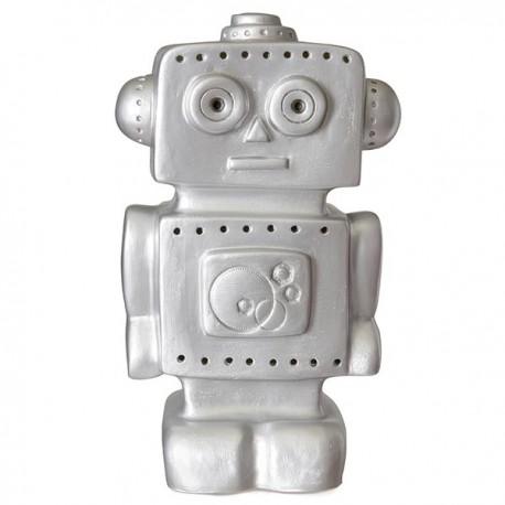 LAMPE  ROBOT ARGENT
