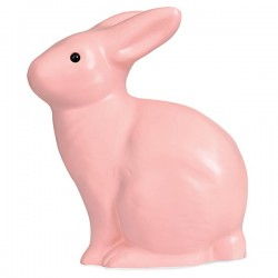 lampe Lapin rose ancient