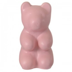 LAMP JELLY BEAR VINTAGE PINK