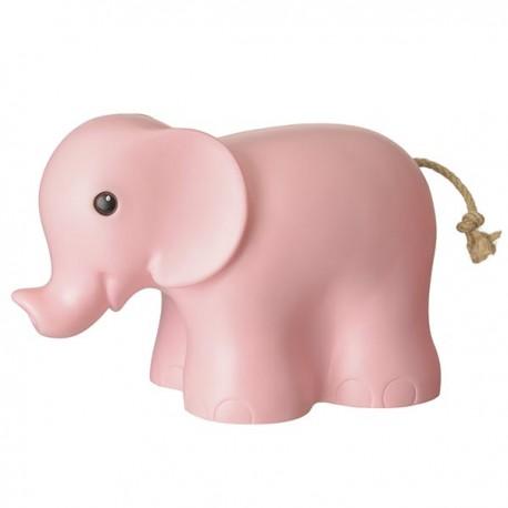 lampe Éléphant rose ancien