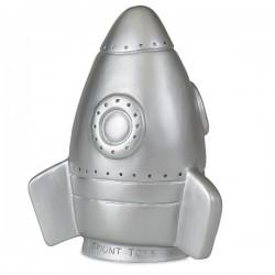 LAMP ROCKET SILVER