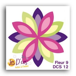 D'CO FLEUR 9