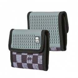 Pixie Wallet CHECKERED GREY / DARK GREY