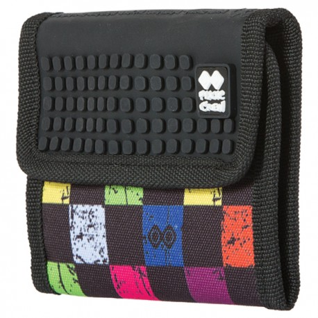 Pixie Wallet CHECKERED MULTICOLOR / BLACK