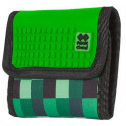 PIXIE WALLET GREEN CHECKERED