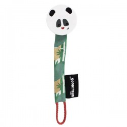 Pacifier clip Rototos the Panda - NEW
