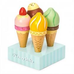 Les crèmes glacées