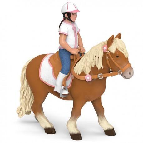 Riding child