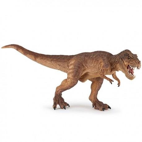 T-Rex à la course brun