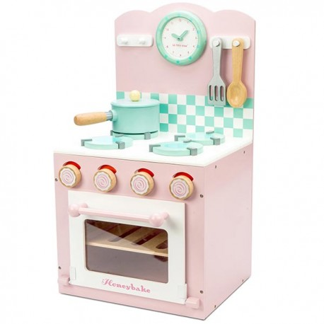 Oven and Hob Set Pink