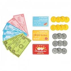 Jeu de pièces, billets et cartes