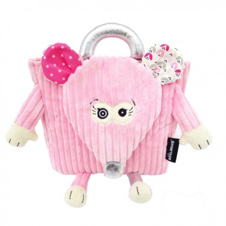 Backpack Coquelicos the Mouse