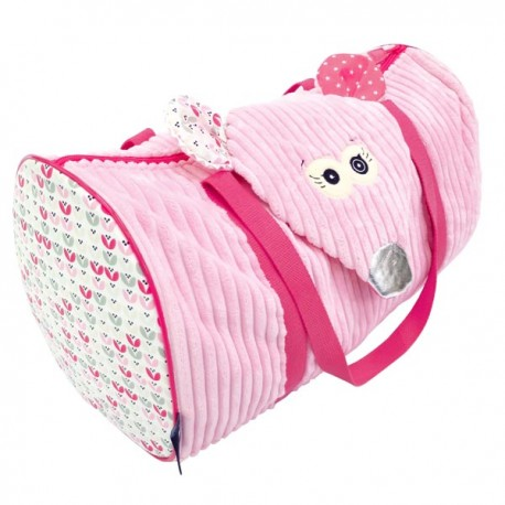 Weekend bag Coquelicos the Mouse