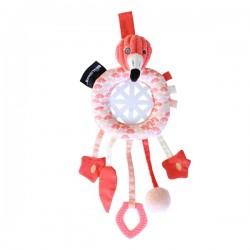 Capteur de rêves Flamingos le Flamant Rose