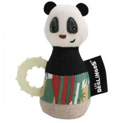 Maracas Rototos le Panda - Nouveau