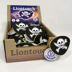 Pirate eye patch box - 24 pcs