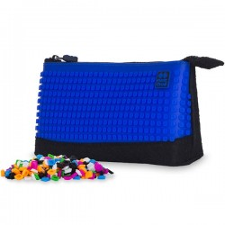 Pixie Pencil Case BLACK / ROYAL BLUE