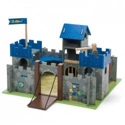 Château d'Excalibur bleu