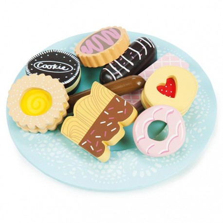 Biscuit & plate set