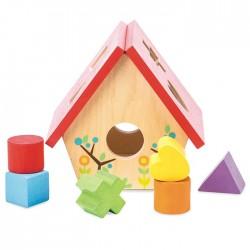 Little Bird House Shape Sorter