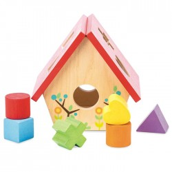 Ma petite boîte à forme - maison d'oiseau