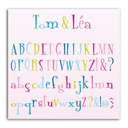 D'CO TOM & LÉA ALPHABET SET