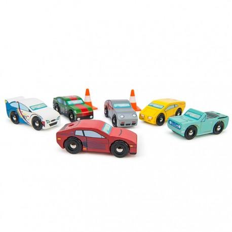 Ensemble (6) de voitures sports Montecarlo