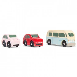 Retro Metro Car Set