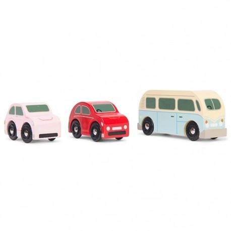 Petit set de voitures rétro